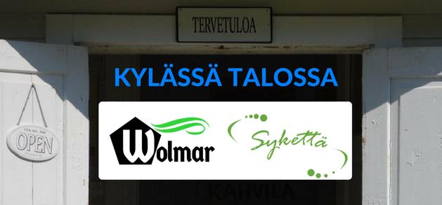 Kylässä talossa -kiertue taloja ylläpitäville yhdistyksille 30.10.-9.11.2017