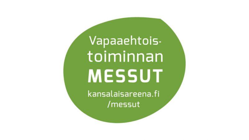 Vapaaehtoiseksi! -messujen 30.11. ilmoittautuminen käynnissä