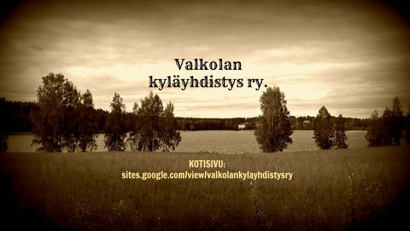 Valkolan Kyläyhdistys ry.