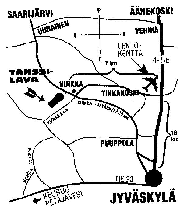 Kuikka Kartta Yhdistystori