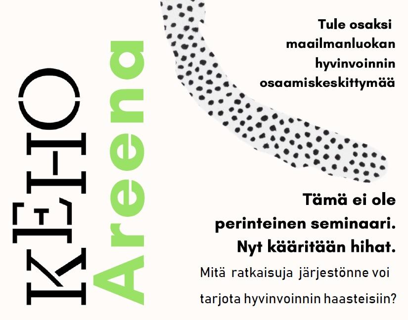 Ei mikään perinteinen seminaari – KeHO Areena 24.10.