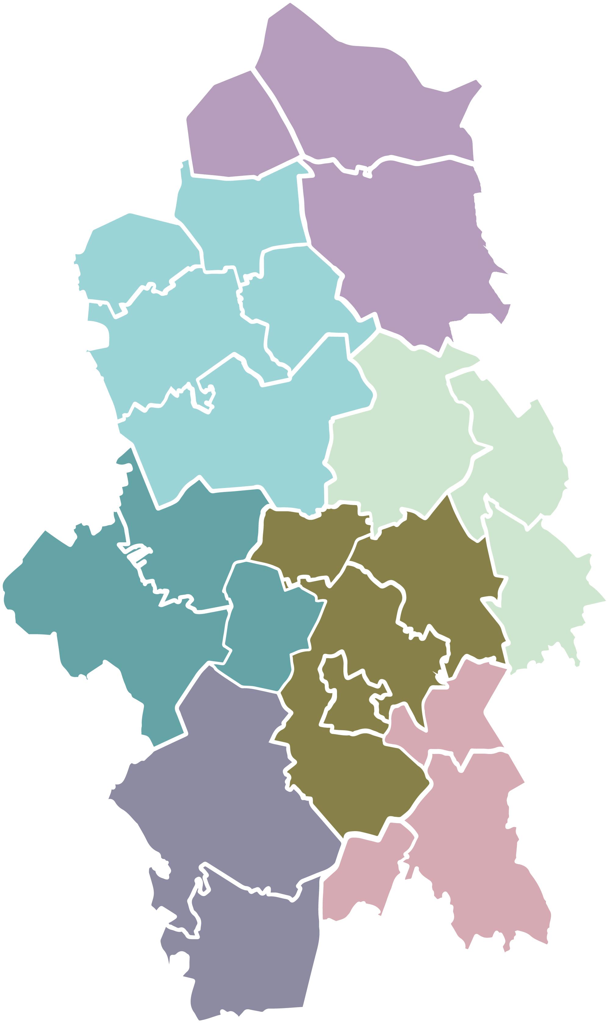 Keski-Suomen Kunnat