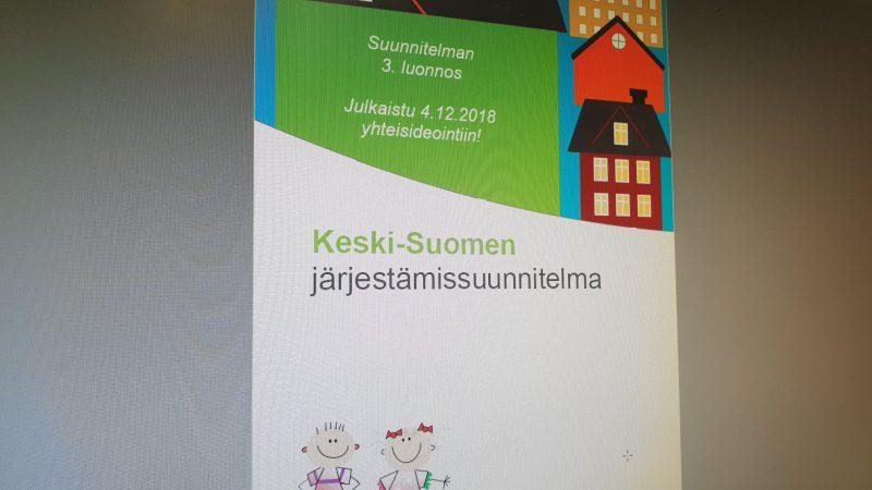 Keski-Suomen järjestämissuunnitelma ja järjestöjen kanssa tehtävä yhteistyö