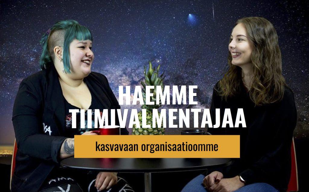 Avoin työpaikka: tiimivalmentaja, Music Against Drugs ry (Jyväskylä)