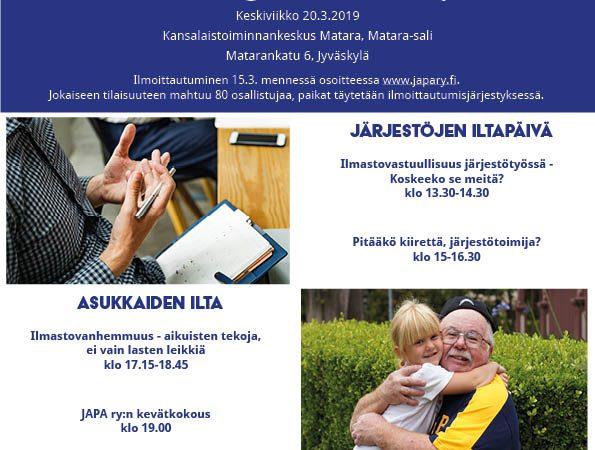 Jyväskylä hoi, Leo Stranius luennoi Matarassa 20.3.2019!