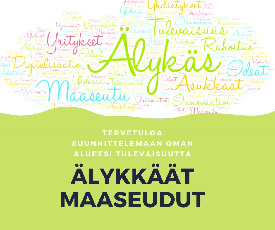 PERUTTU! Älykkäät maaseudut -tilaisuus 26.3. Jyväskylässä