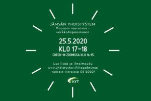 Vuoroin vieraissa verkkotapaaminen 25.5.2020 mainoskuva
