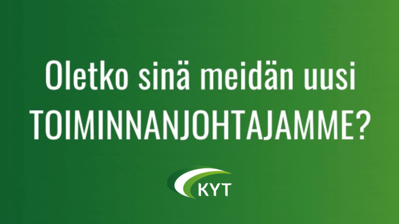 Keski-Suomen Yhteisöjen Tuki etsii toiminnanjohtajaa