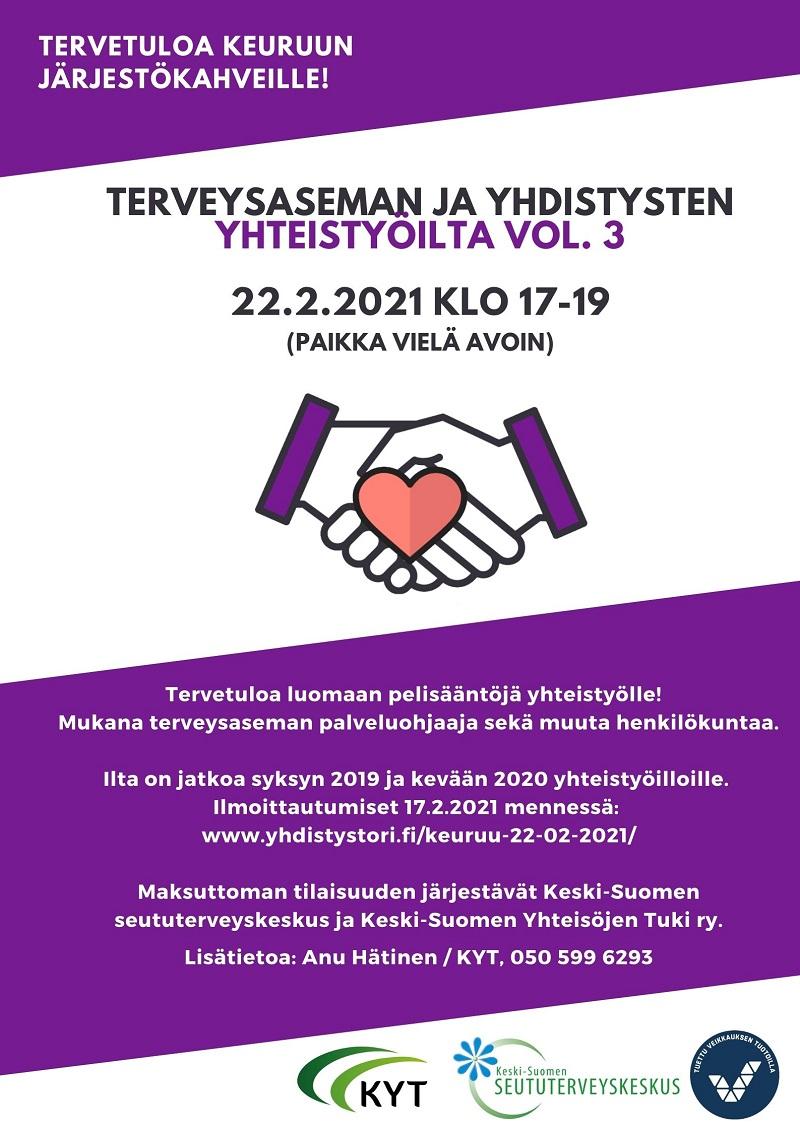 Keuruun järjestökahvit 22.2.2021